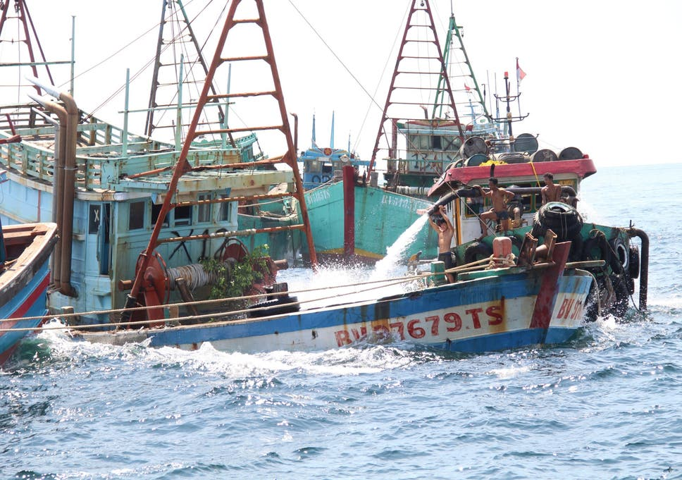 Indonesia Sinks 51 Foreign Boats To Fight Illegal Fishing