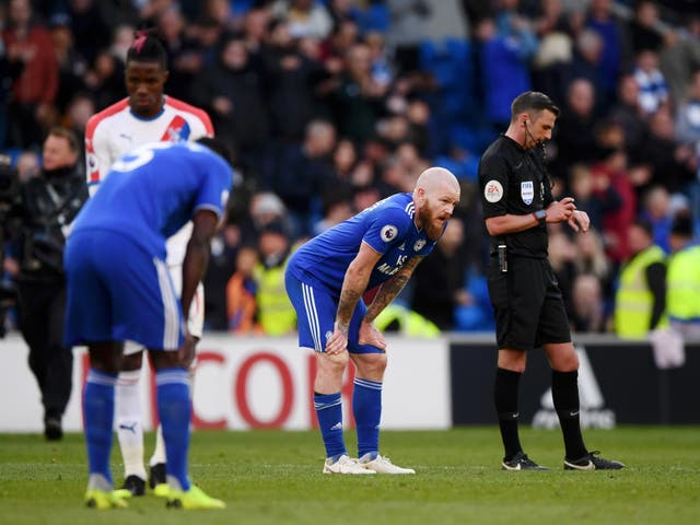 Cardiff City have been relegated from the Premier League after a 3-2 defeat by Crystal Palace