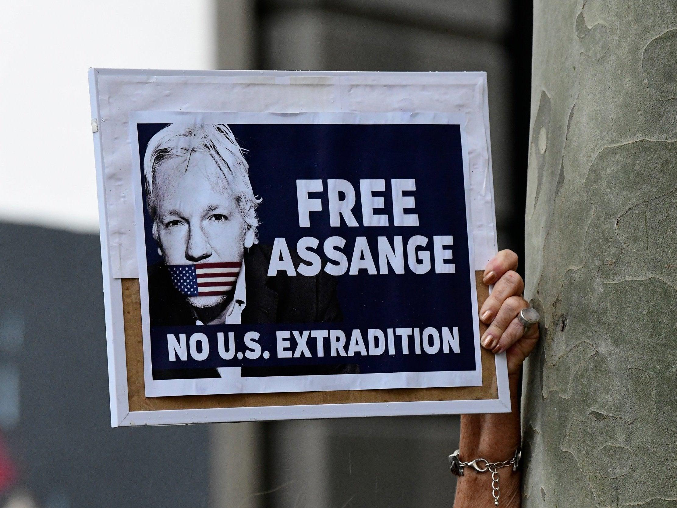 assange dead