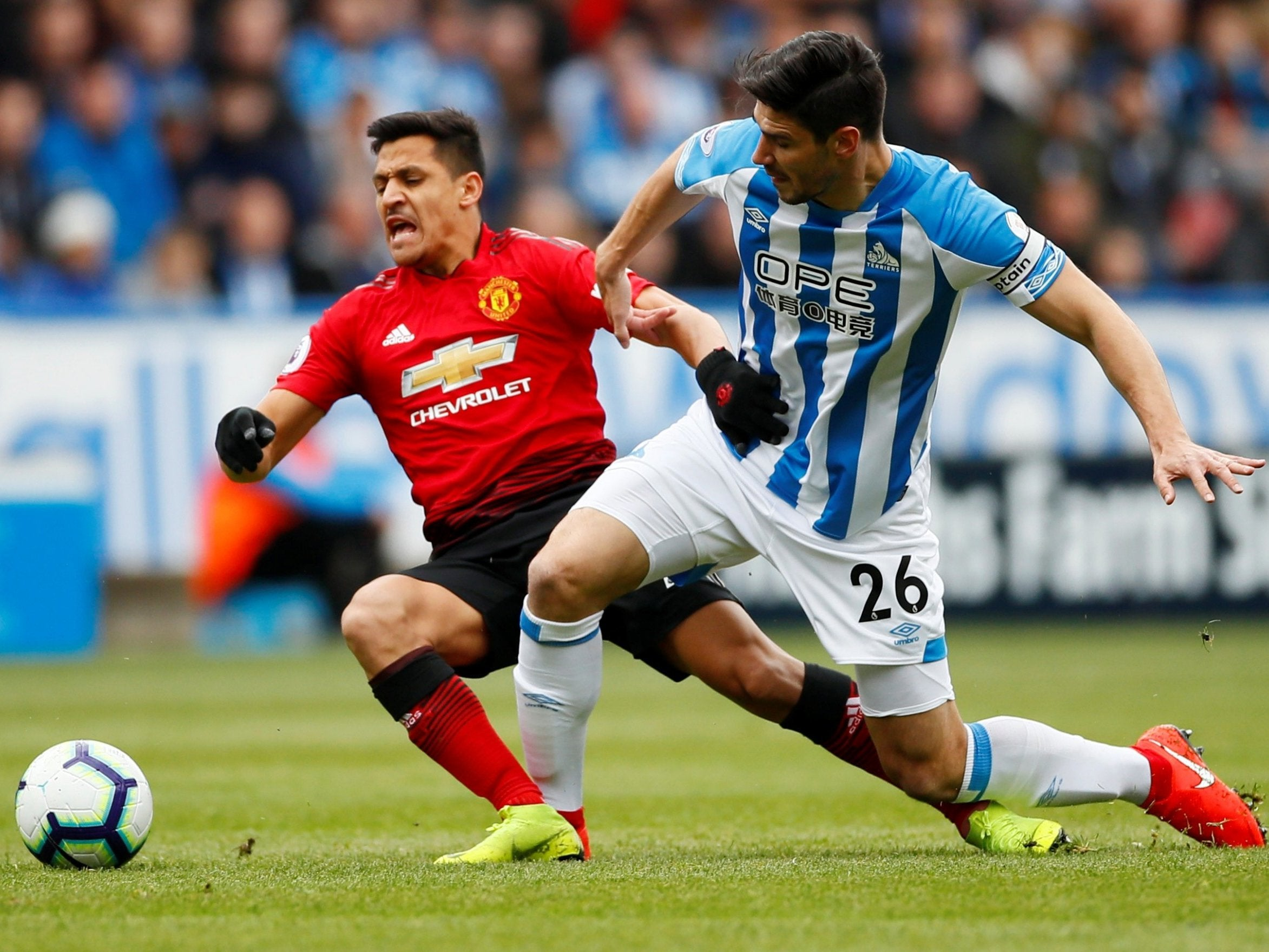 Resultado de imagen de huddersfield 1 manchester united 1