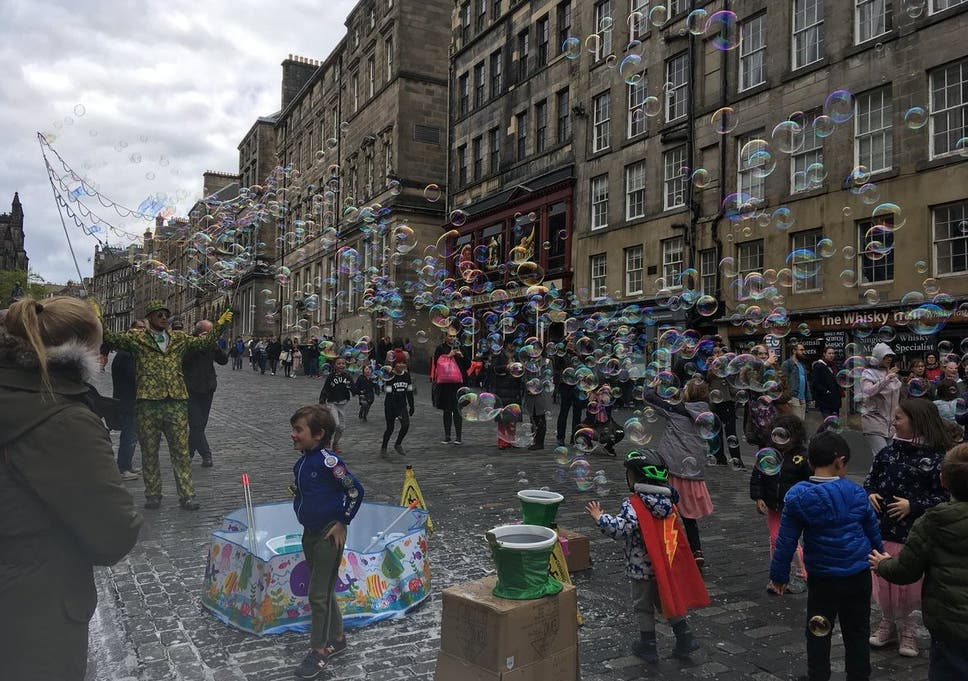 0f32340ec186 Edinburgh city centre goes car-free to combat air pollution | The ...