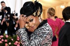 80c463e9c9e9 Met Gala 2019: Cardi B shuts down the red carpet in dress that took ...