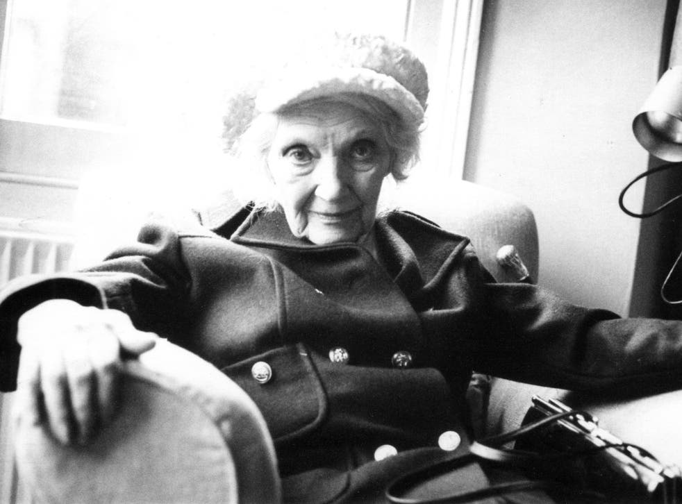 A previously unpublished photo of Jean Rhys; one of the last photographs ever taken of the acclaimed author