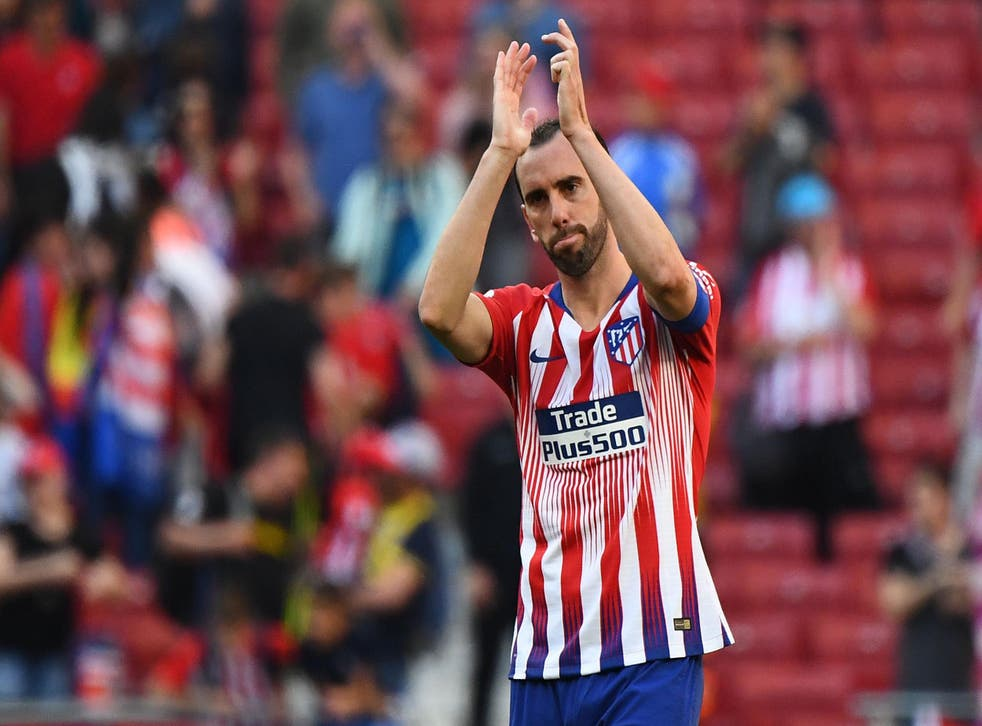 Diego Godin has said he fairwells and will leave Atletico this summer
