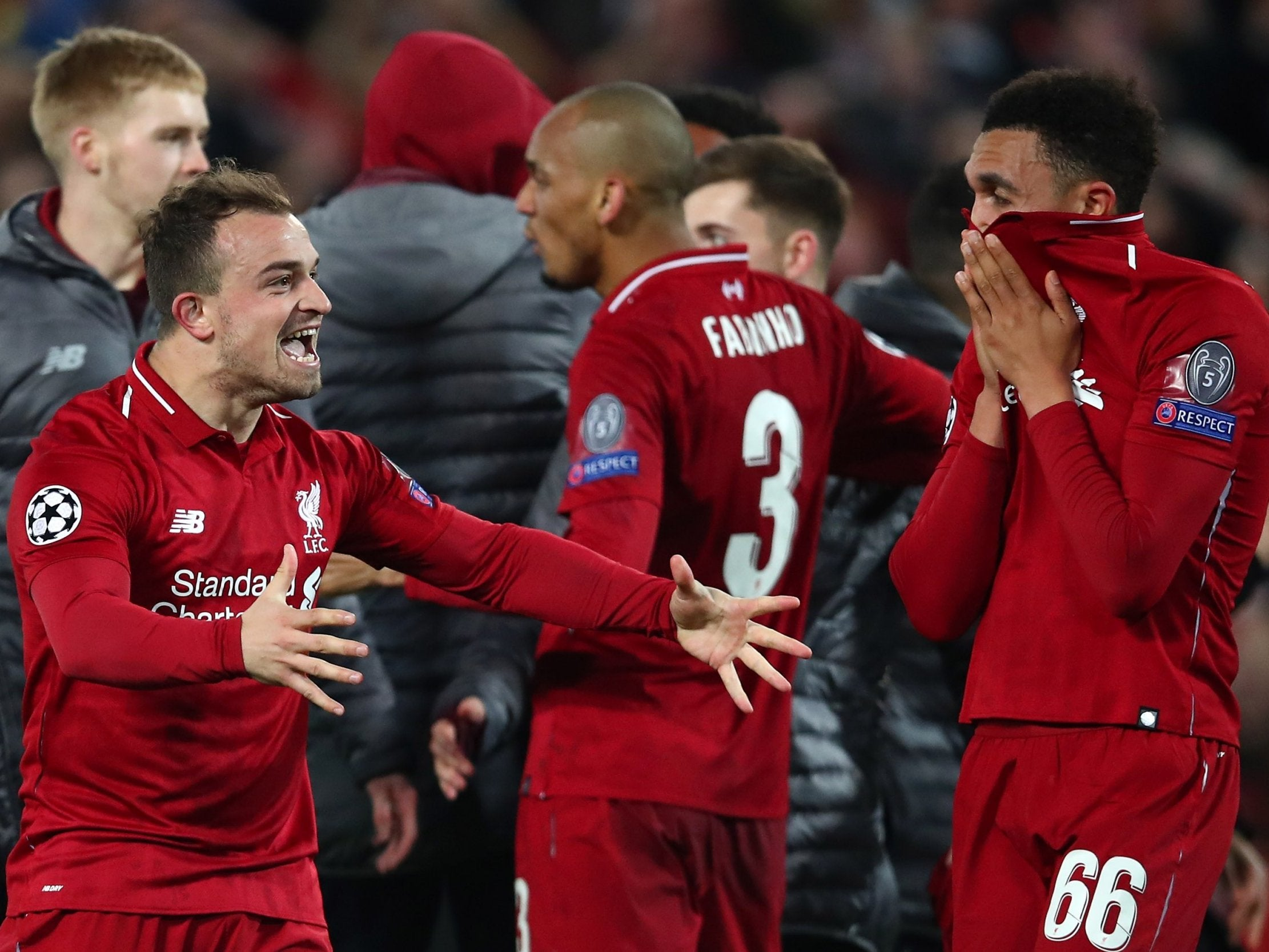 083396b3dd7 Liverpool vs Barcelona: Those who dared to dream inspired Anfield's most  special night | The Independent
