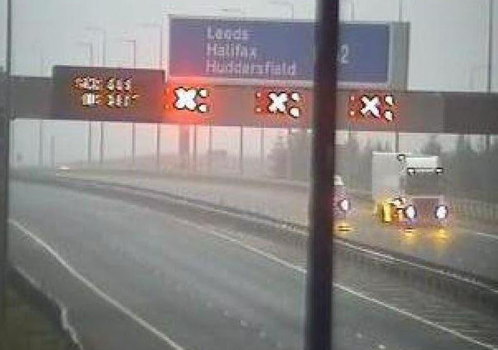 M62 traffic: Six-mile tailbacks as motorway closed in both