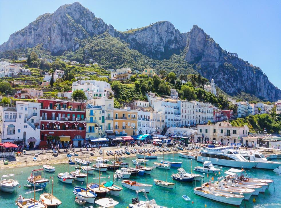 Capri is banning single-use plastics
