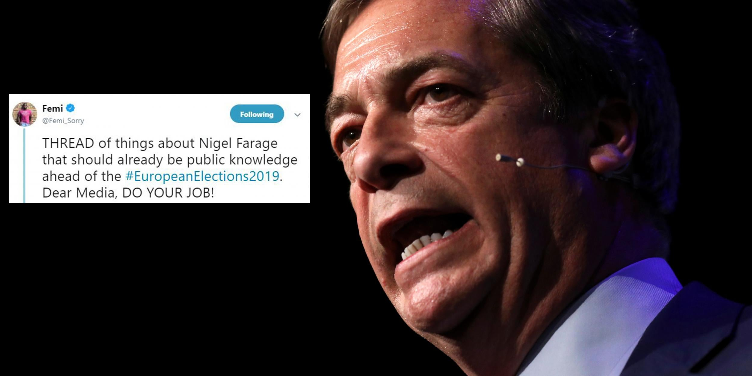 This Twitter thread on Nigel Farage and Brexit is must-read