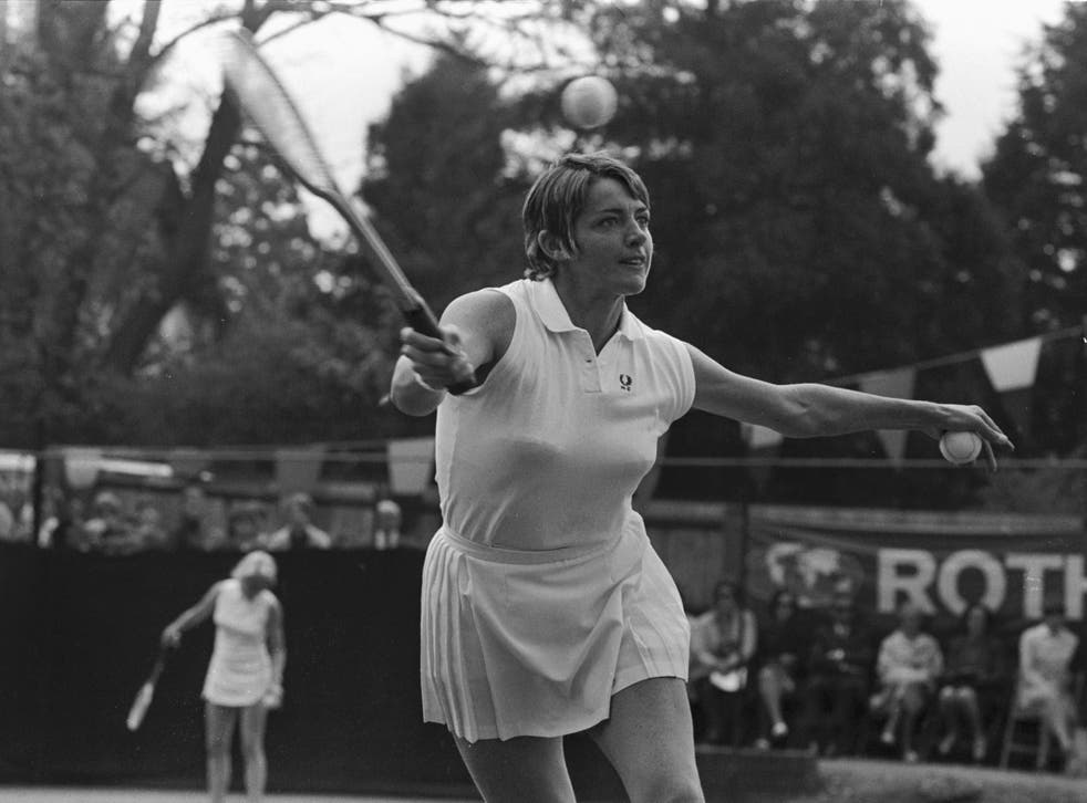 Margaret Court lost against Bobby Riggs in 1973, in tennis's first 'battle of the sexes'