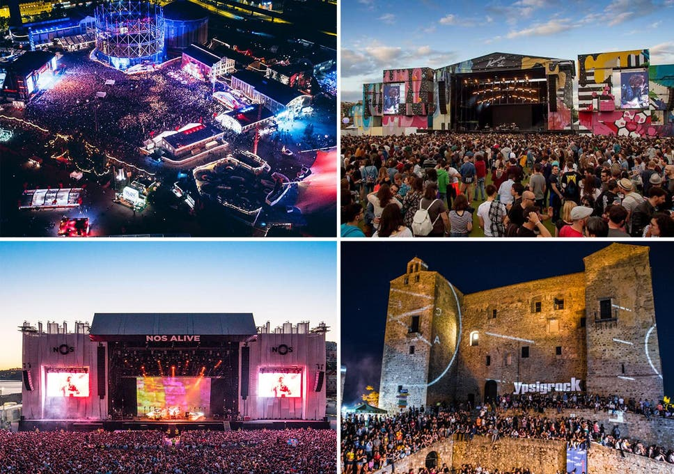 The 12 best European music festivals, from Nos Alive to