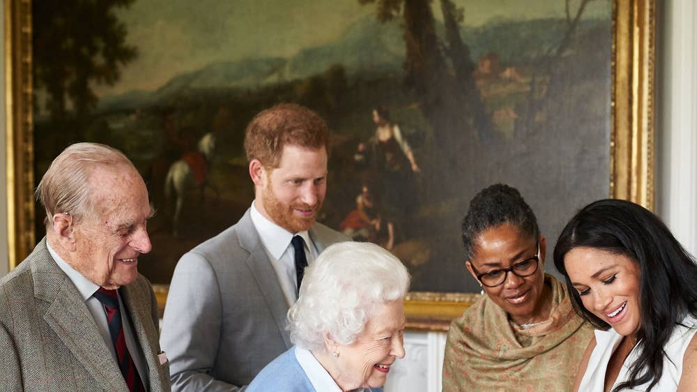 Baby Archie: Prince Harry and Meghan Markle share never