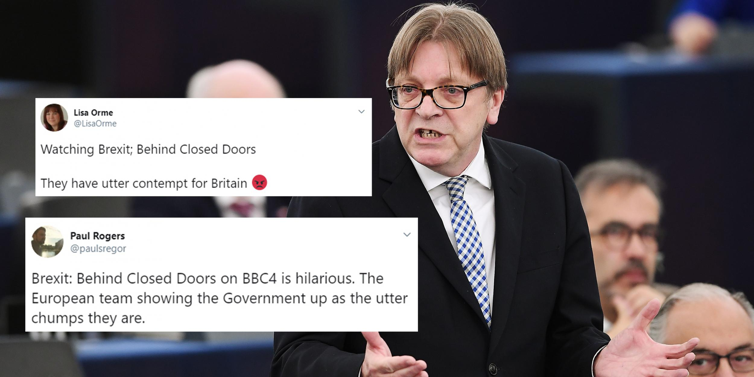Brexit The Most Brutal Guy Verhofstadt Moments From The Behind The