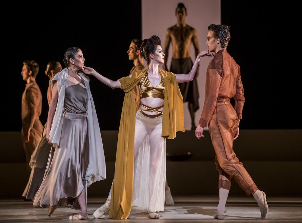 A scene from 'Medusa' by The Royal Ballet at the Royal Opera House