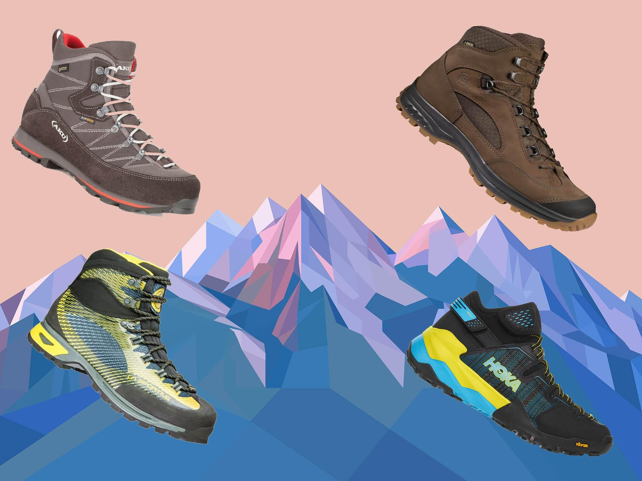 Best men's hiking boots and shoes