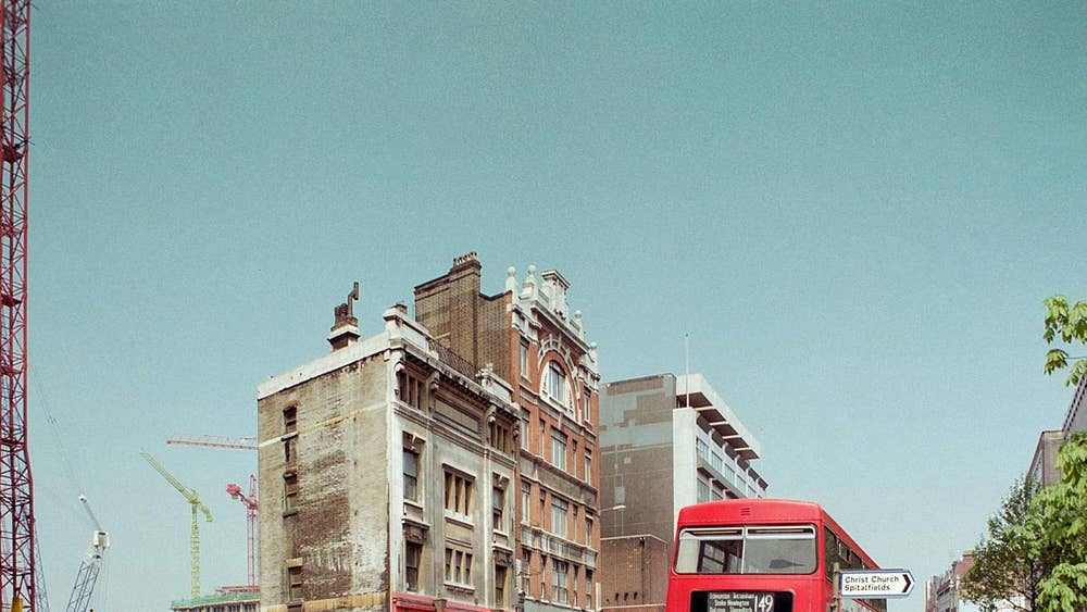 London East End 1980s transformation shown in vintage photos