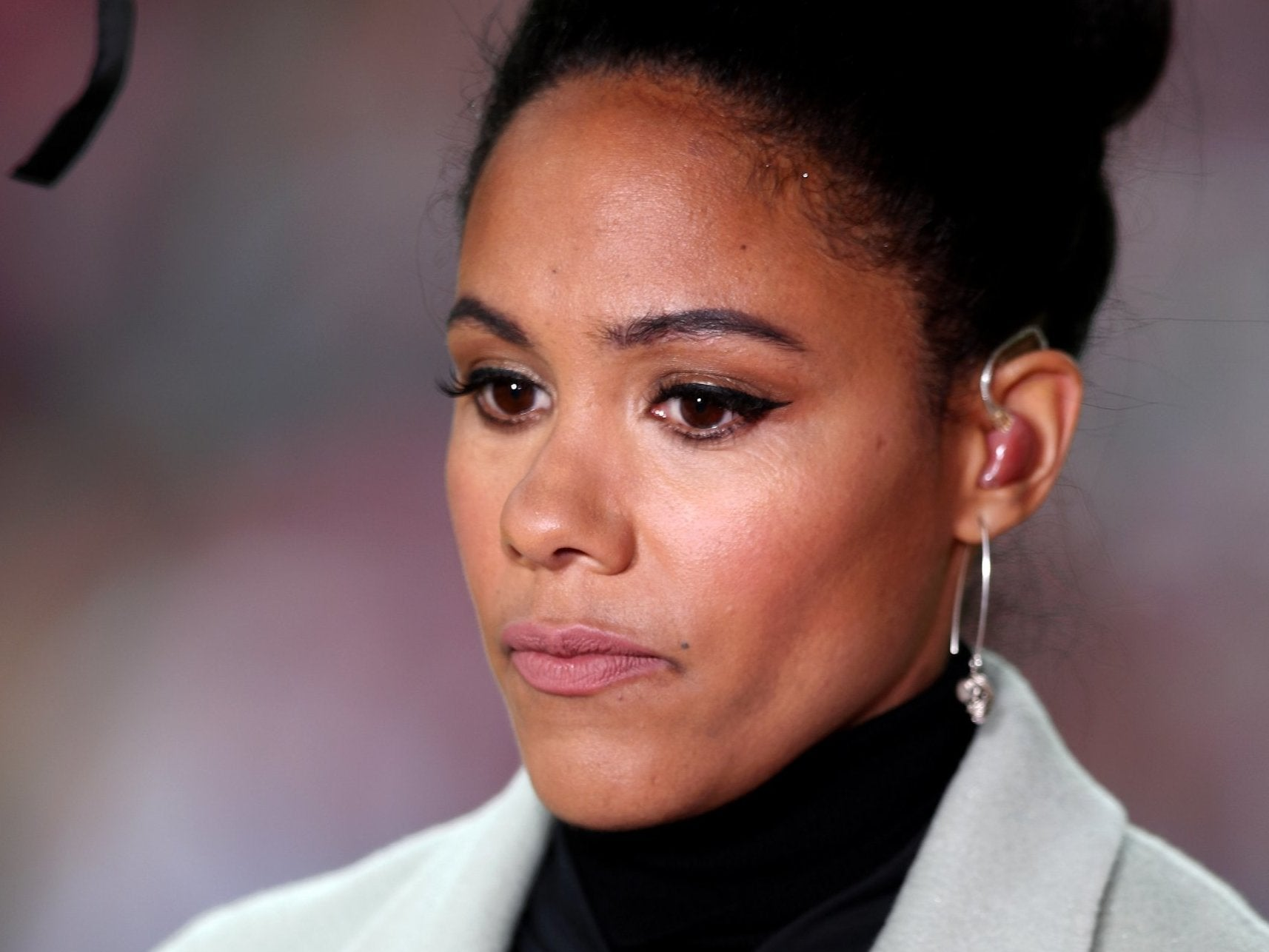 Alex Scott vows to continue TV punditry despite sexist abuse on social media 'every single day'