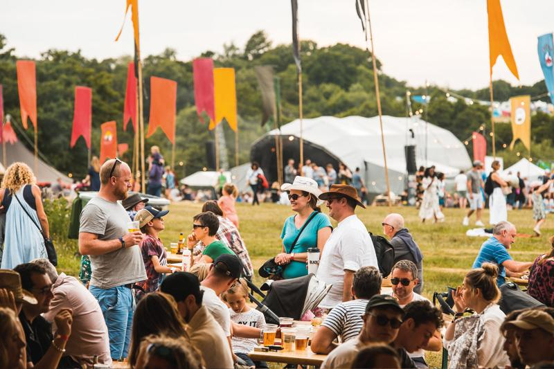 Festival goers should pay £25 fee which