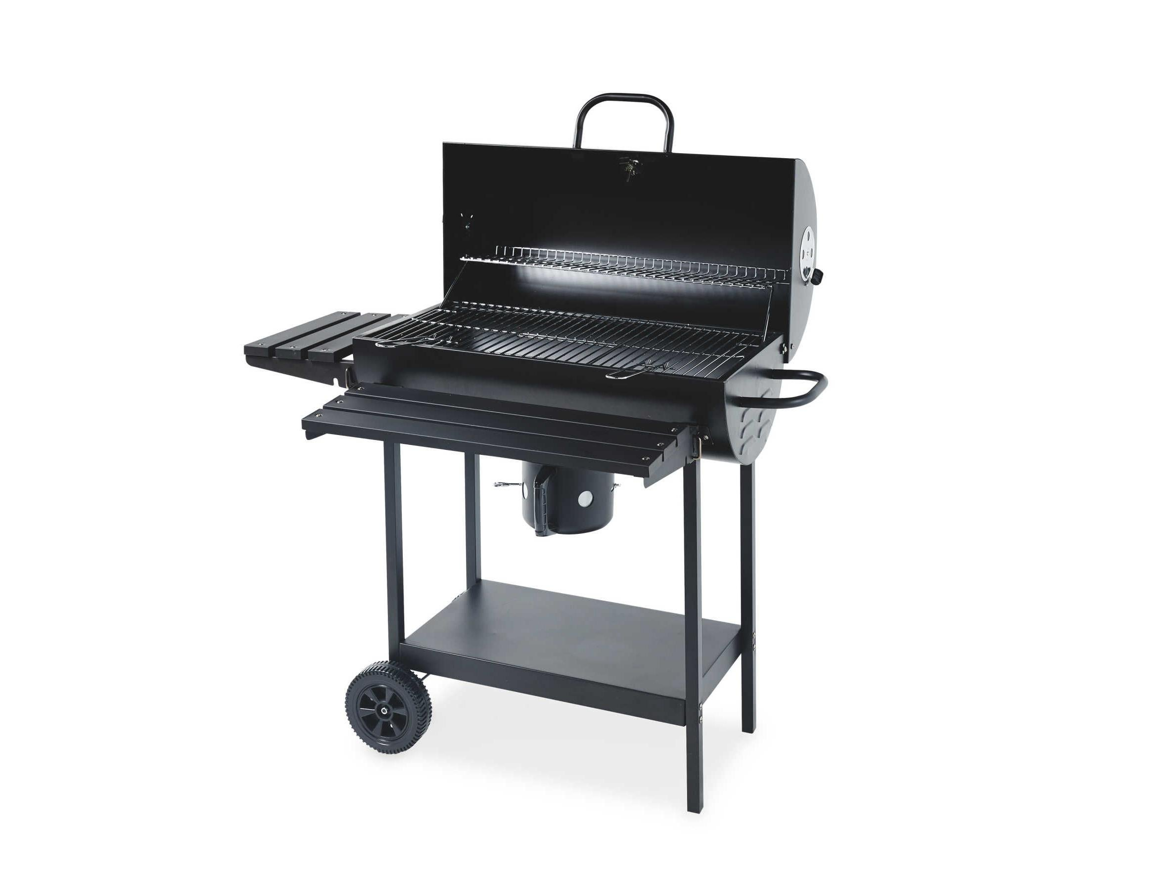 Argos Home American Style Warming Rack Adjustable Charcoal BBQ Steel Black
