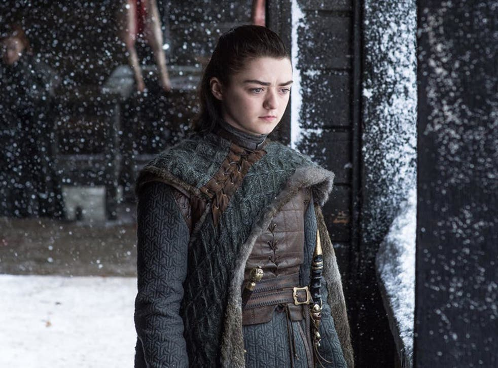 Hell hath no fury... Maisie Williams as Arya in the hit HBO series