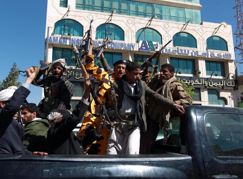 Yemen's Houthi rebels are backed by Iran as they fight forces supported by Saudi Arabia.
