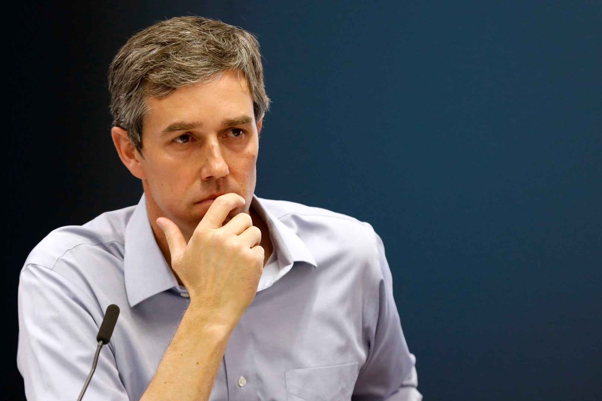 Beto O'Rourke, I'm not mad. I'm just disappointed