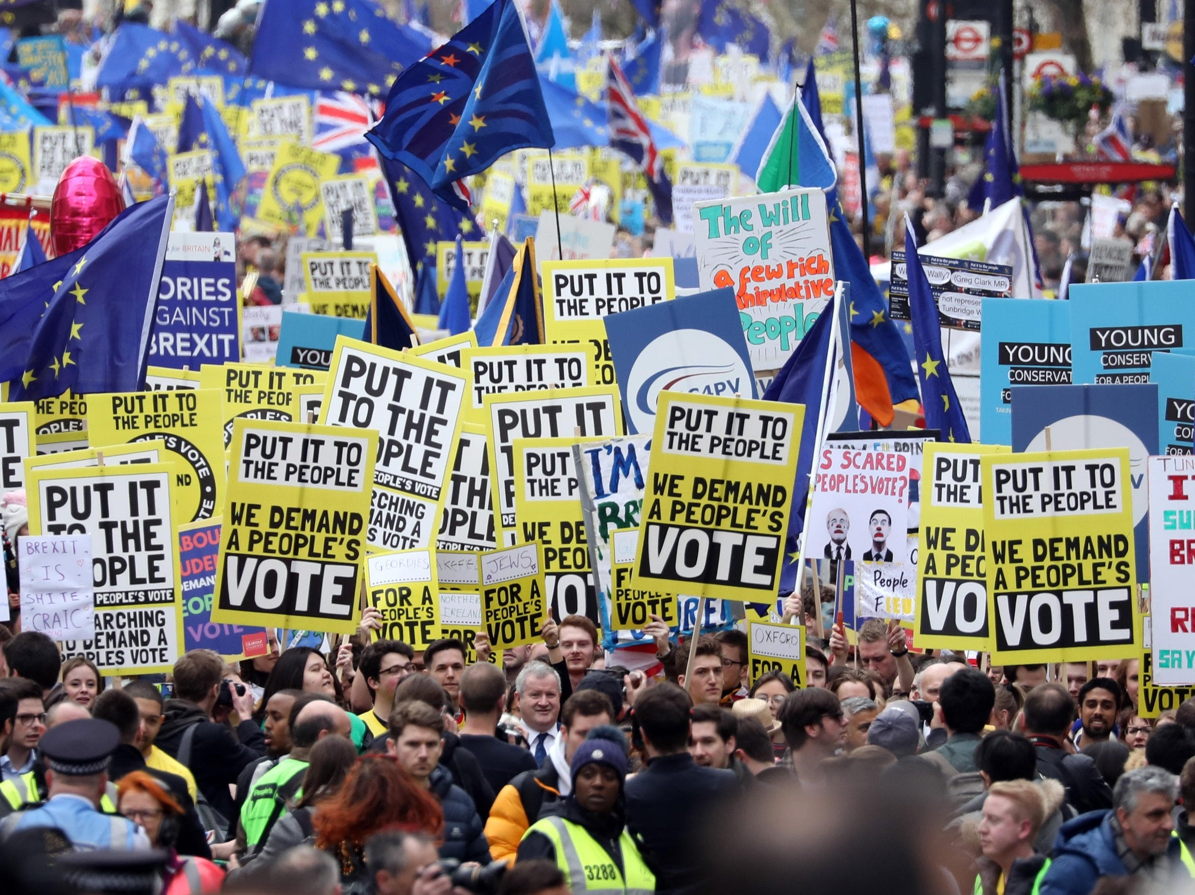 Brexit: Sports and television stars to join activists in north of England demanding fresh referendum