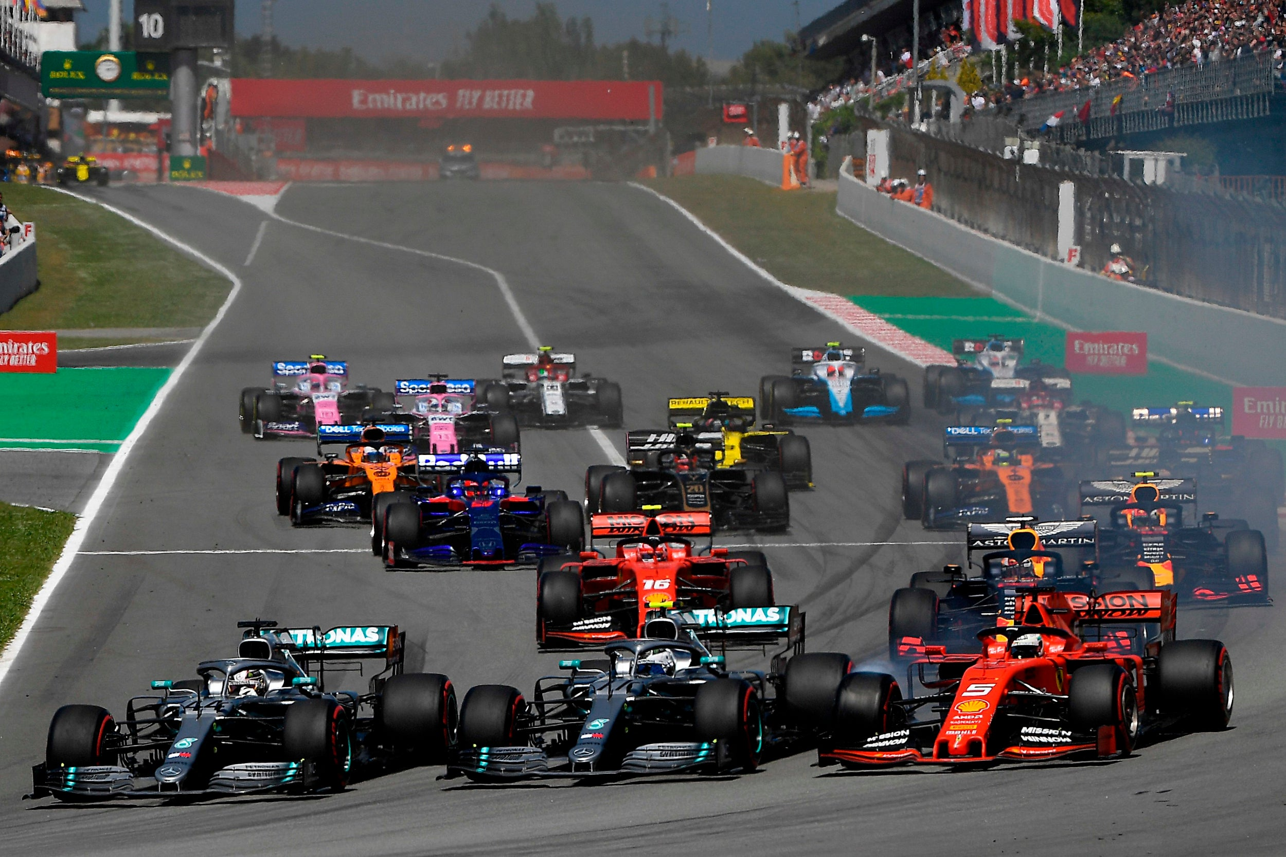 Lewis Hamilton inspired to Spanish Grand Prix win by young five-year