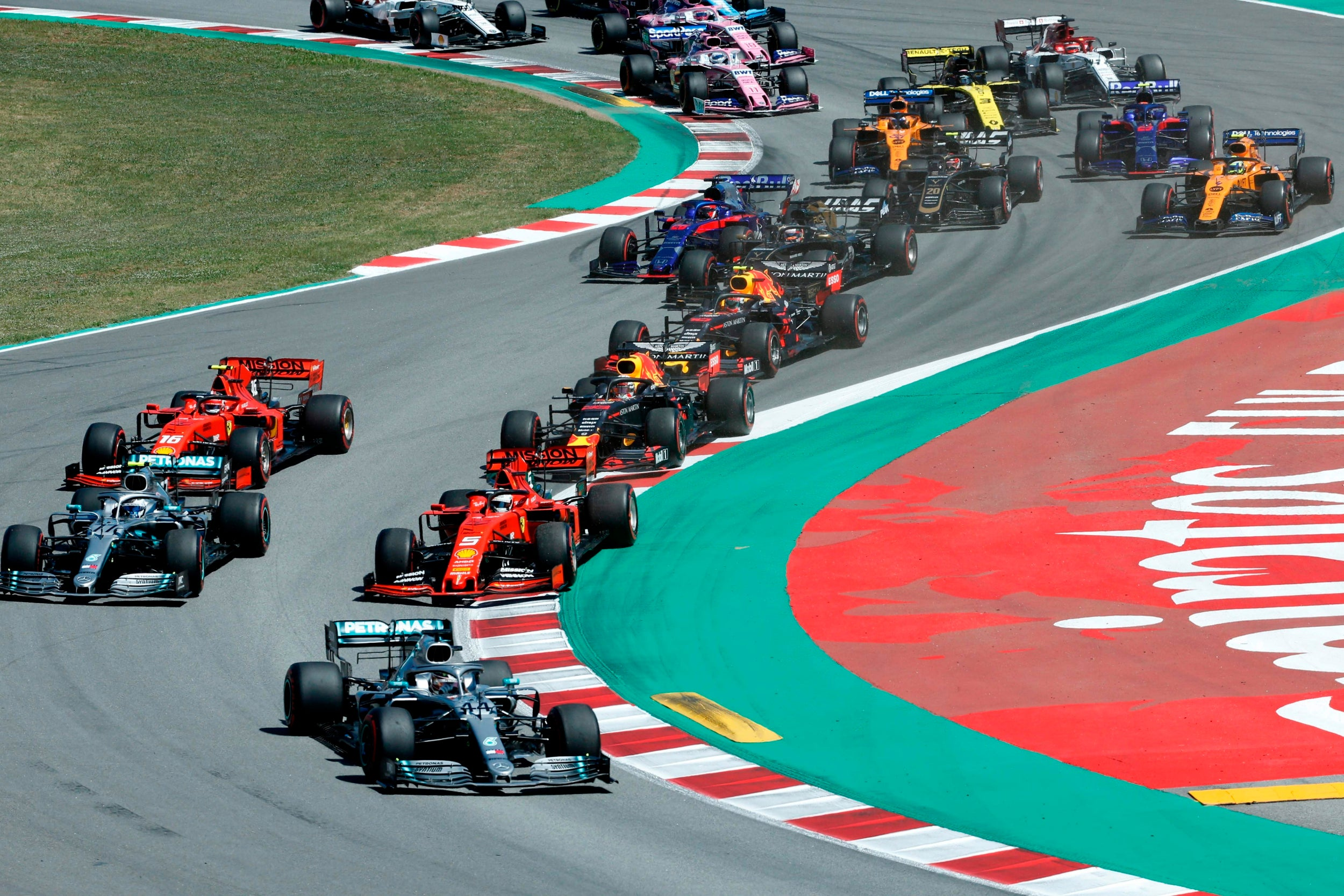 When is the Spanish Grand Prix and what time does it start?