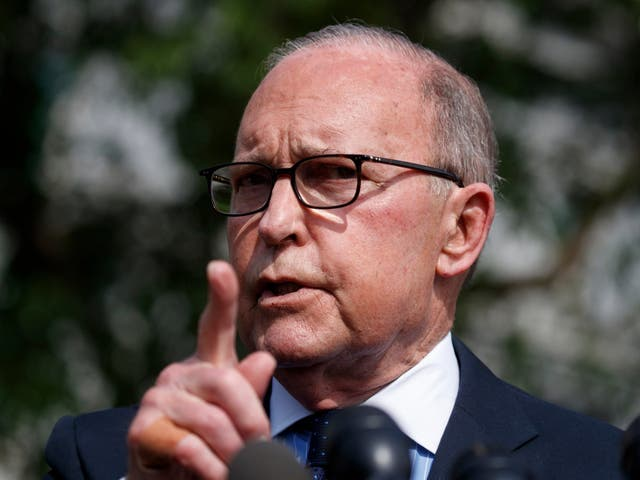 """'Both sides will suffer on this,"""" says White House chief economic adviser Larry Kudlow"""