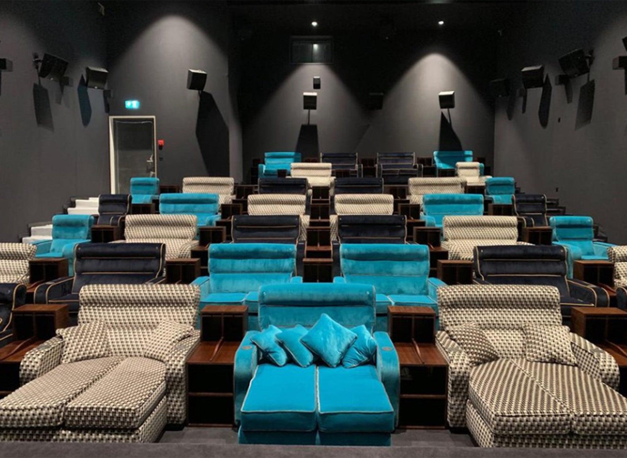 'VIP bedroom cinema' opens with 11 double beds in Switzerland