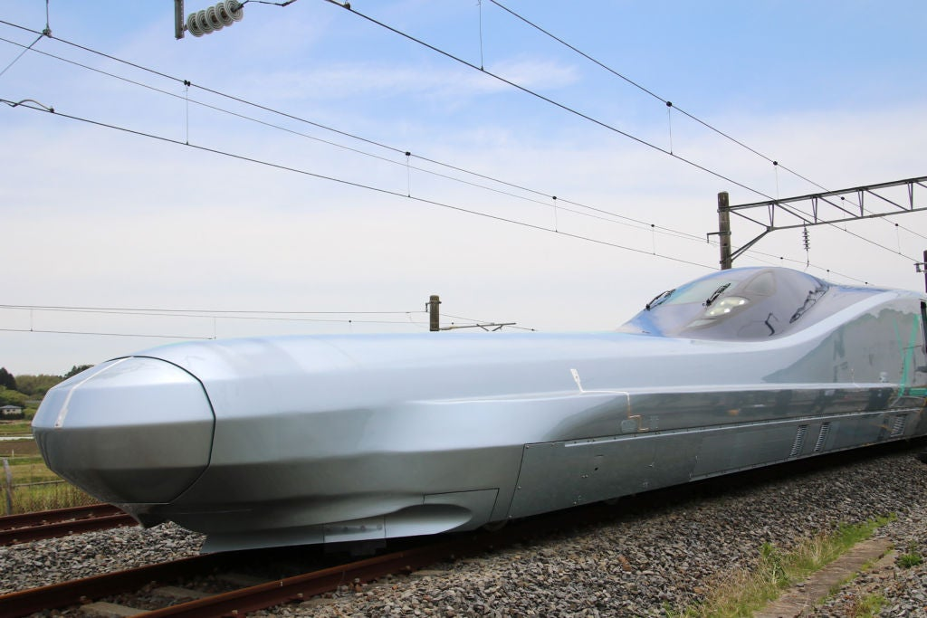 Japan tests fastest ever bullet train which can reach speeds of 400kph