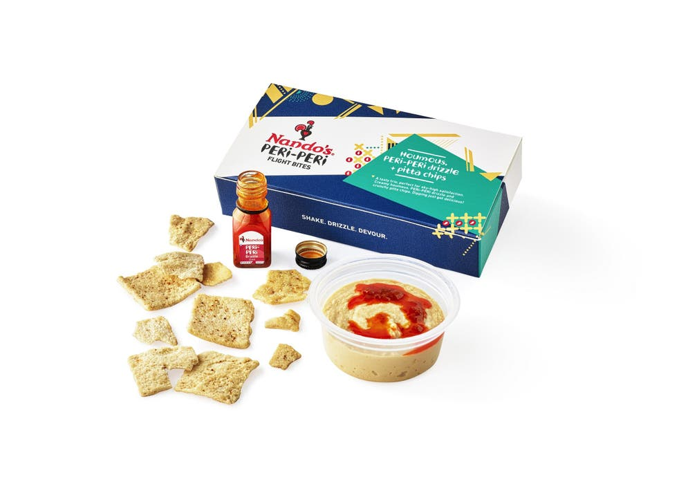 The Nando's Box could also contain a free meal voucher