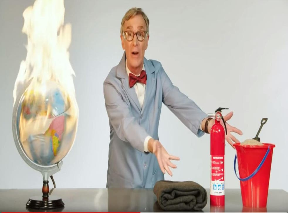 Bill Nye scorches the earth