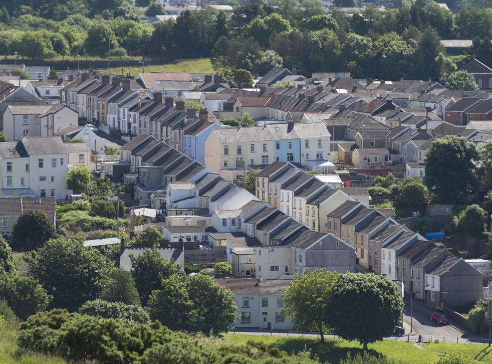Merthyr Tydfil in Wales (pictured) is one of several UK locations considered an 'Area for a beautiful future' because of high rates of recycling