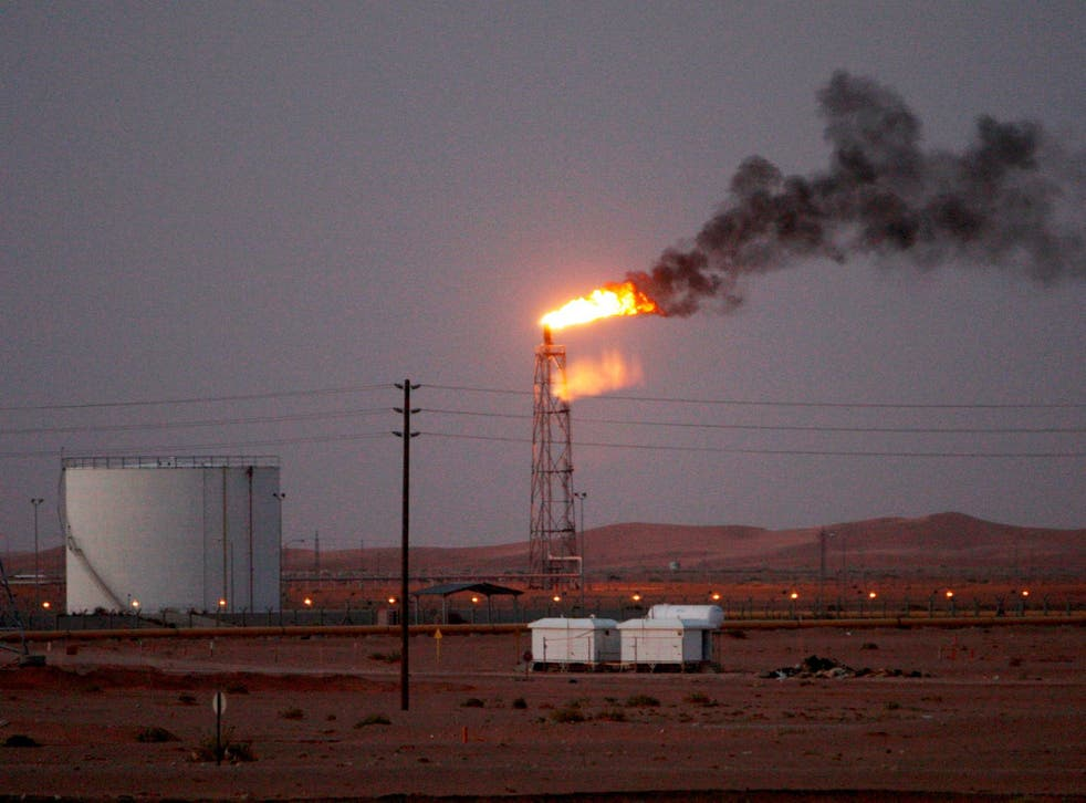 Saudi Aramco said some of its oil infrastructure in Saudi Arabia's eastern province has been attacked, including one of its petroleum pumping stations
