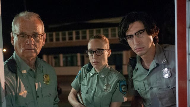 """Jim Jarmusch's The Dead Don't Die opened Cannes Film Festival to mixed reviews. The Independent's Geoffrey Macnab wrote that the cast – including Bill Murray, Adam Driver and Steve Buscemi – gave """"strangely listless and deadpan performances"""". The two-star review continued: """"Tilda Swinton brings some comic vim to her role as a samurai-like undertaker with a broad Scottish accent while Caleb Landry Jones and Danny Glover are good value as they take a stand against the undead in the local convenience store, but neither the satire nor the slapstick here are as sharp as you would like them to be."""""""