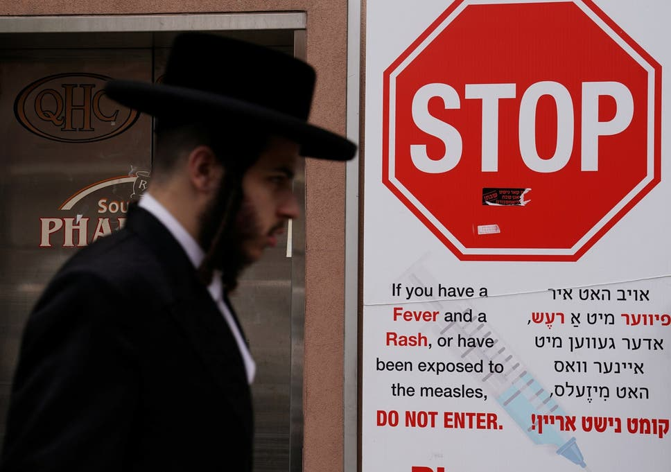 Editorial Finally Anti Vaccine Movement >> Anti Vaccine Rally In New York Attracts Hundreds Of Orthodox Jews