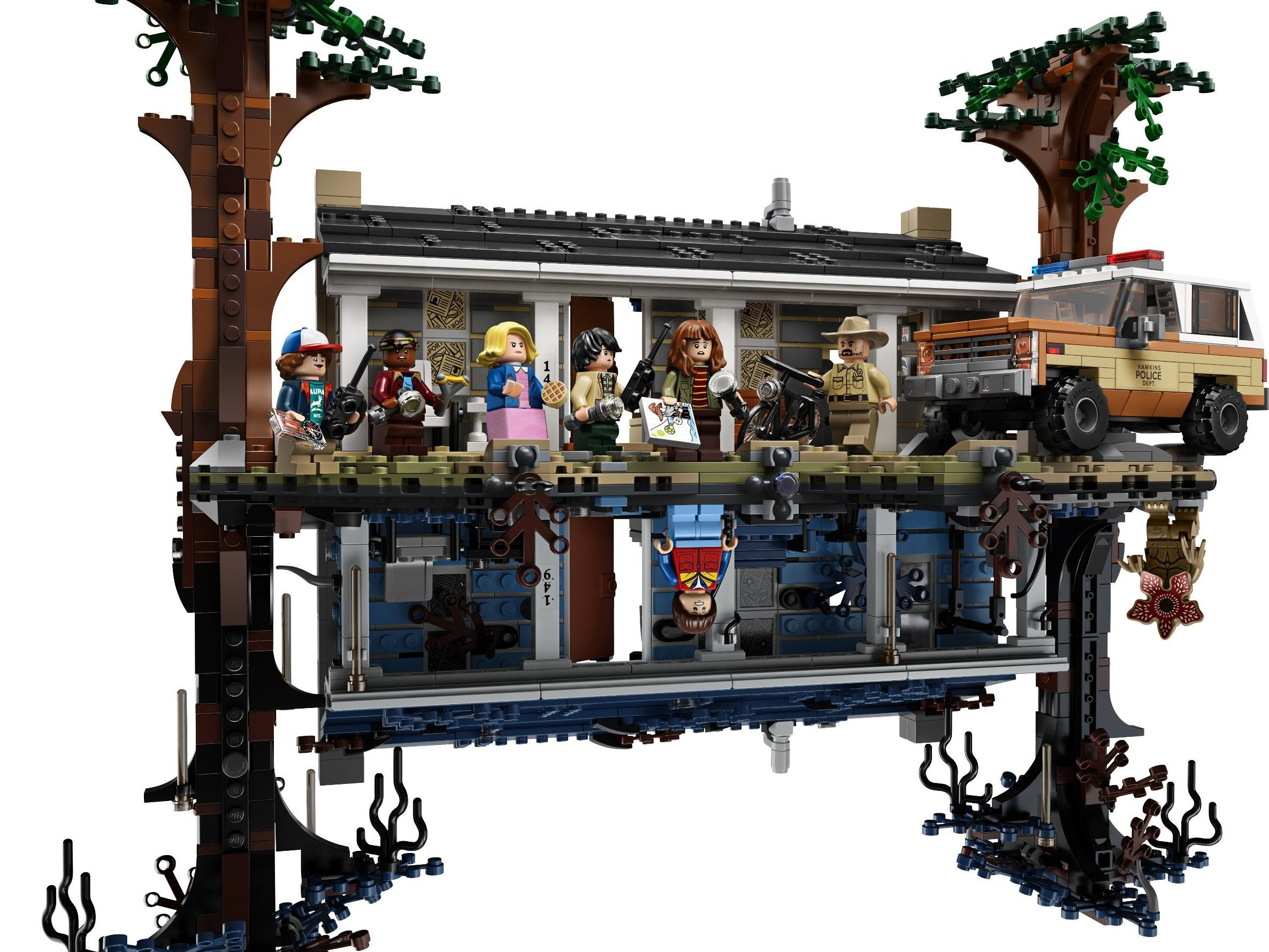 Stranger Things to get Lego set that you can flip upside down | The