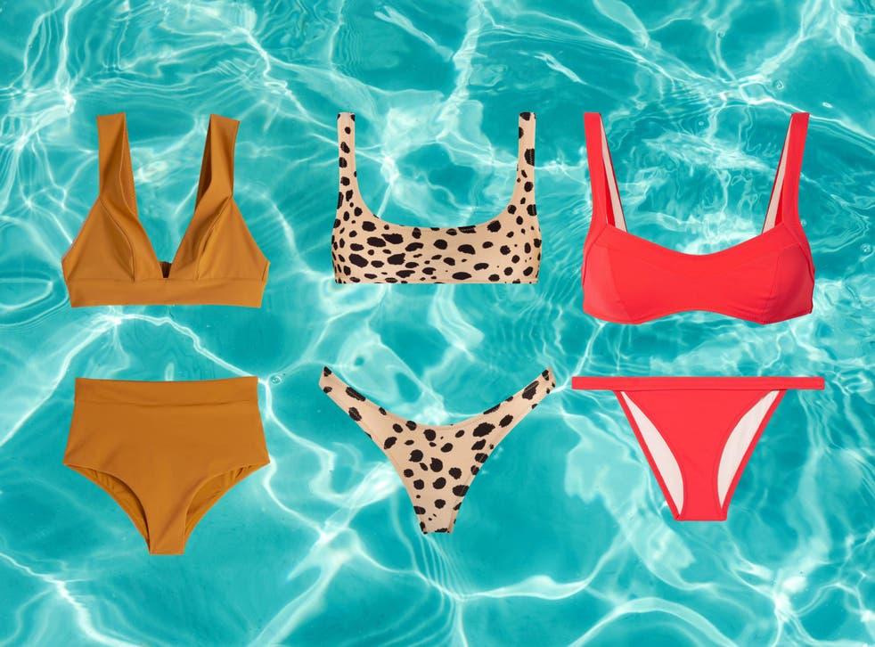 We've tried on the boldest and brightest bikinis to find best high waisted, bandeau and triangle bikinis for the summer