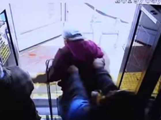 Elderly man dies after women pushes him off bus for 'asking her to be nicer'