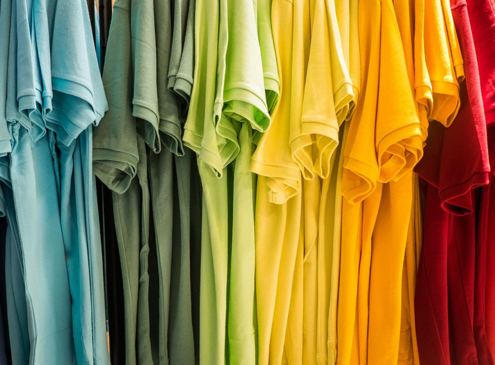 Forget the expensive skin cream, a coloured T-shirt could make your skin look younger