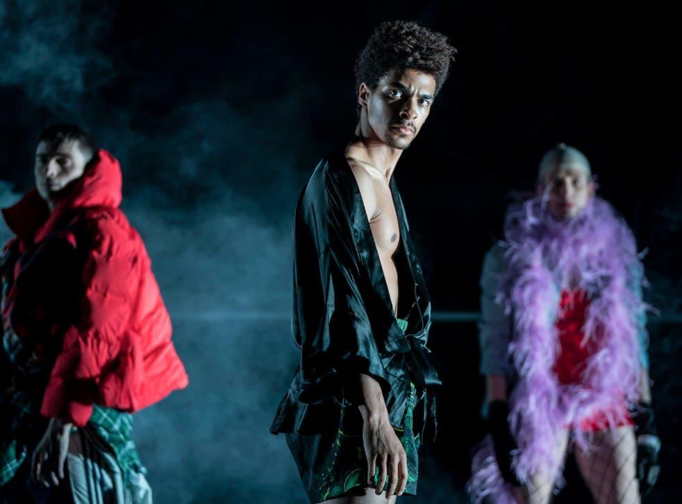 Juan Gil, Liam Francis, and Daniel Davidson in 'Rouge'