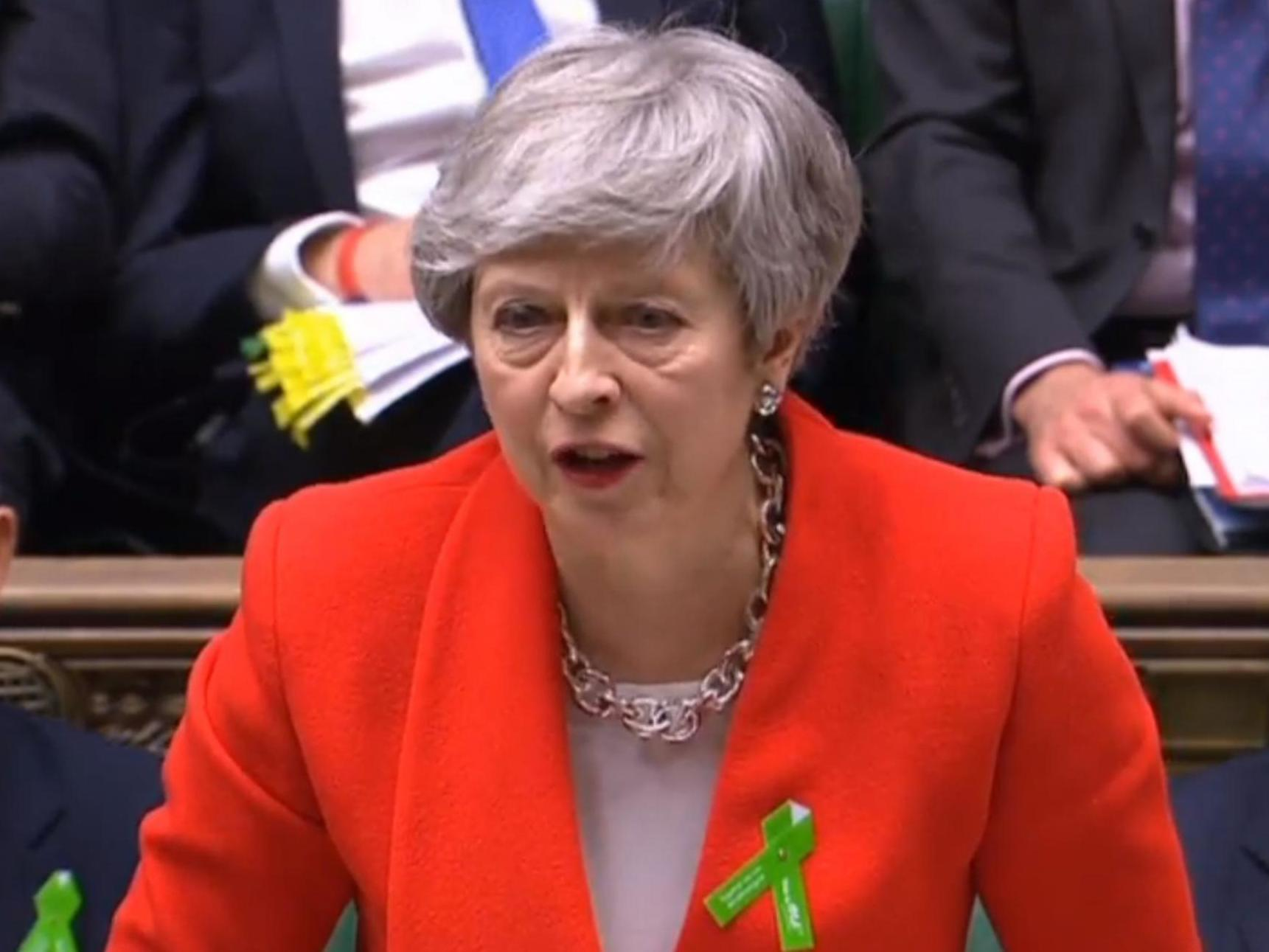 How does Theresa May's plan for a new Commons votes on her Brexit deal affect those hoping to succeed her?