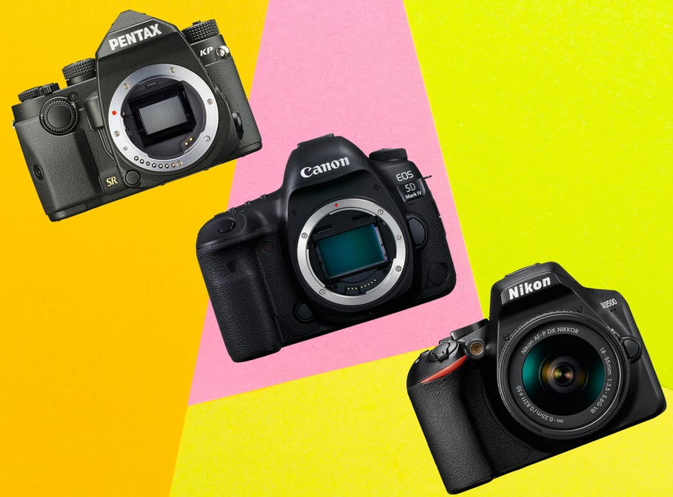 DSLR cameras are usually sold with the camera body only, to give greatest flexibility when it comes to choosing exactly the lens you want