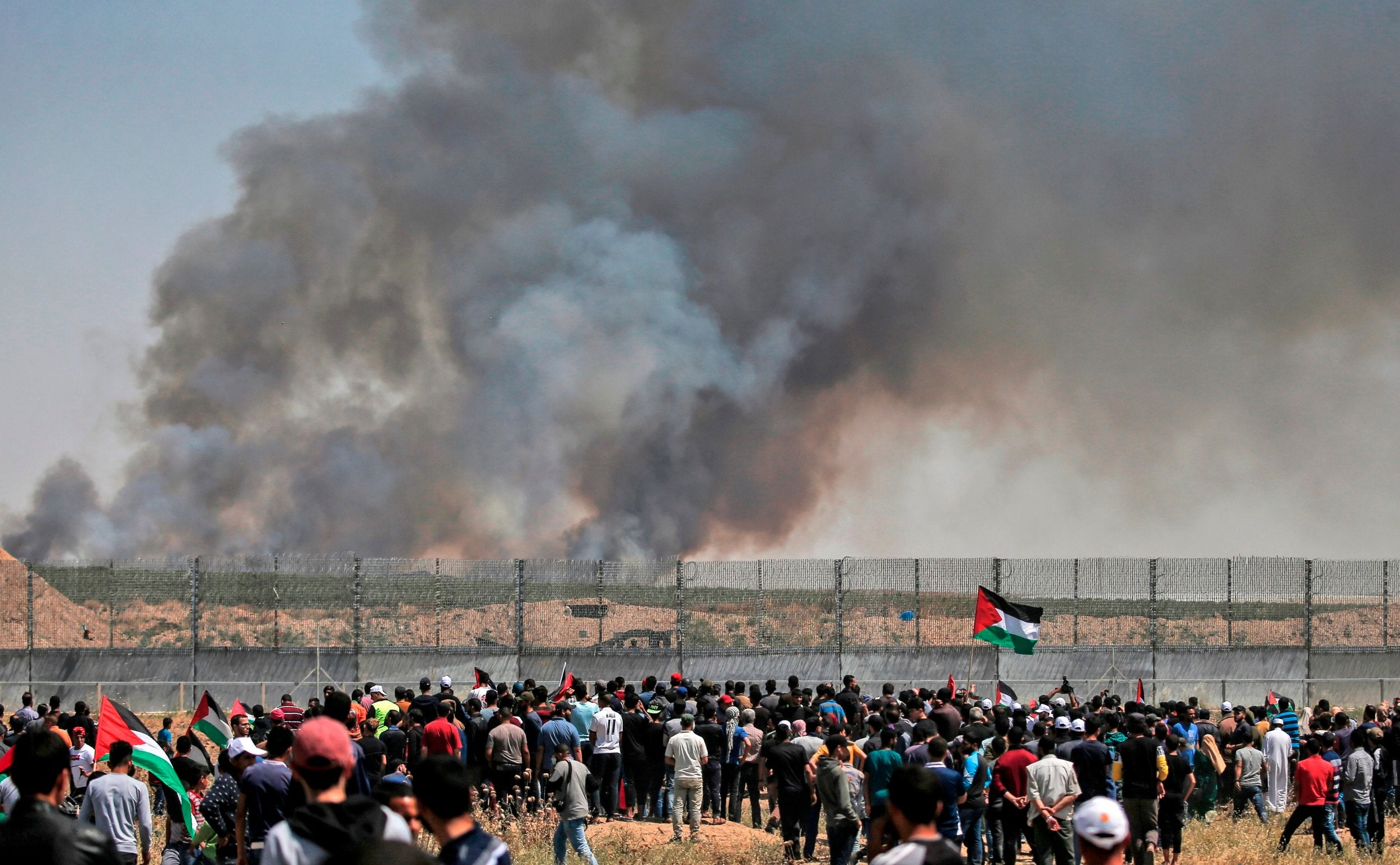 Gaza: Hamas urge restraint during 'Nakba' day protests as truce holds during Eurovision