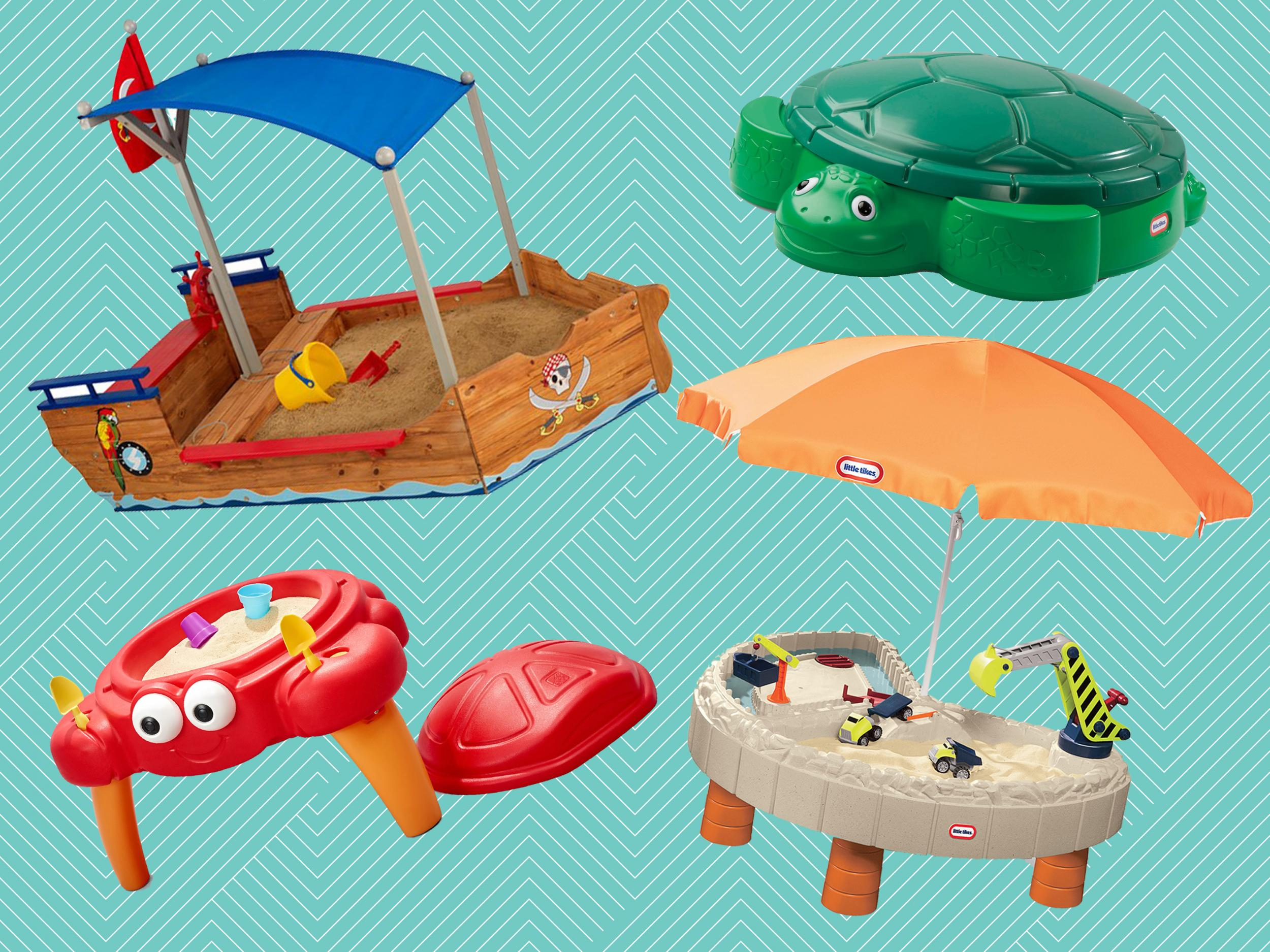 Pools & Water Fun Trustful 6 Sets Childrens Beach Toy Car Suit Baby Play With Sand Dug Tool Attractive Appearance
