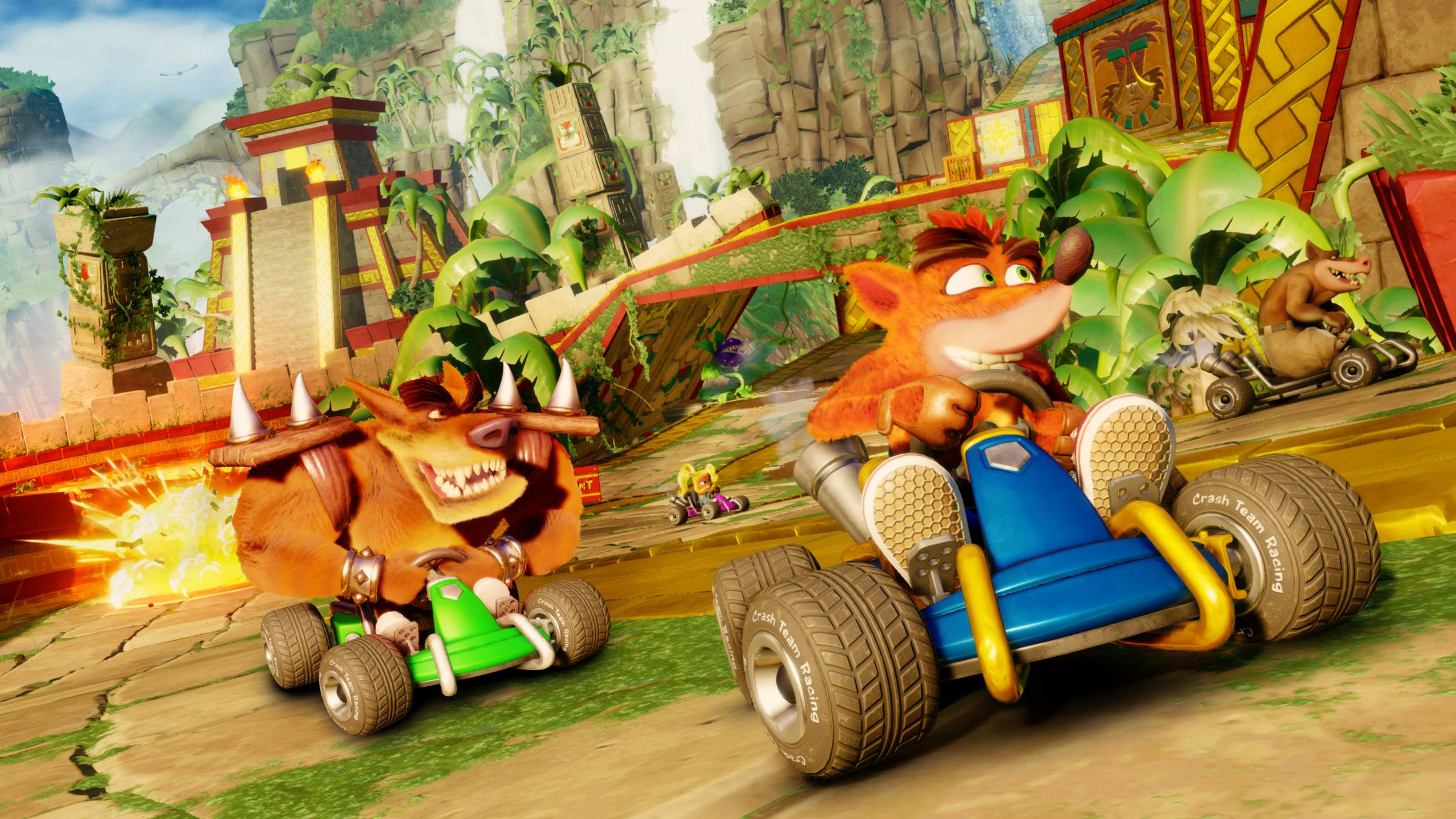Preview: Crash Team Racing Nitro-Fueled is extremely fun but fails