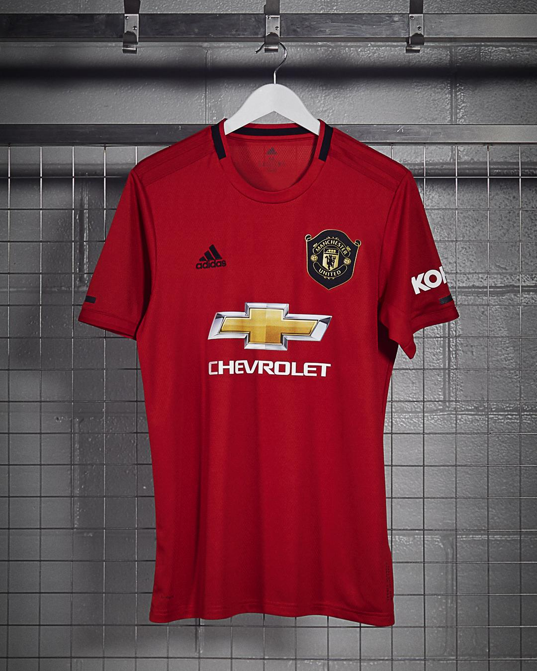 95a179459 Manchester United new kit  Paul Pogba fronts new Adidas 2019 20 home shirt  release inspired by 1999 treble