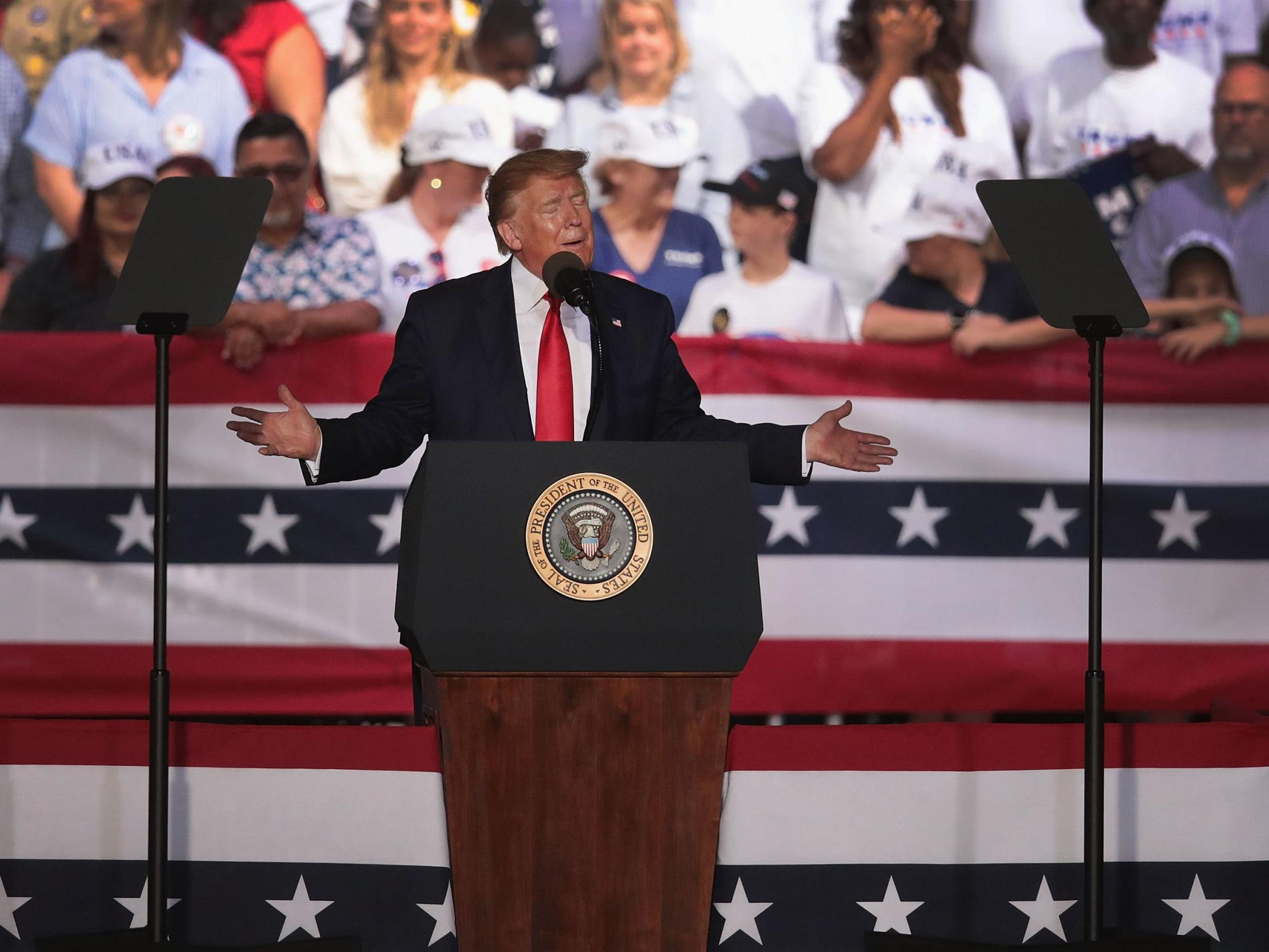 Trump Speeches To Be Broadcast Every Hour On Florida Radio