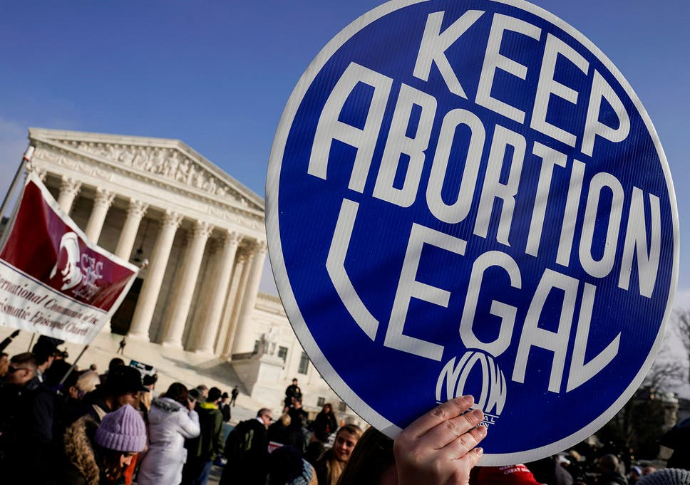 Right-wing figures warn of looming 'civil war' over abortion